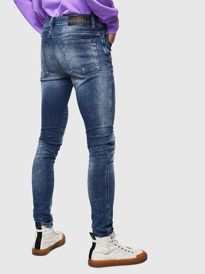 Diesel - D-Reeft JoggJeans 0096M, Dunkelblau - Jeans - Image 2