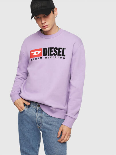 Diesel - S-CREW-DIVISION, Lila - Sweatshirts - Image 4