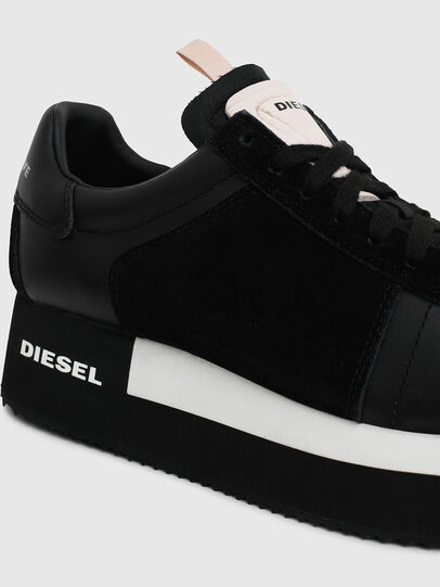 Diesel - S-PYAVE WEDGE, Schwarz - Sneakers - Image 4