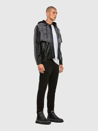 Diesel - KROOLEY JoggJeans® 069NC, Schwarz/Dunkelgrau - Jeans - Image 5