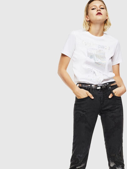 Diesel - T-SILY-YB, Weiß - T-Shirts - Image 5
