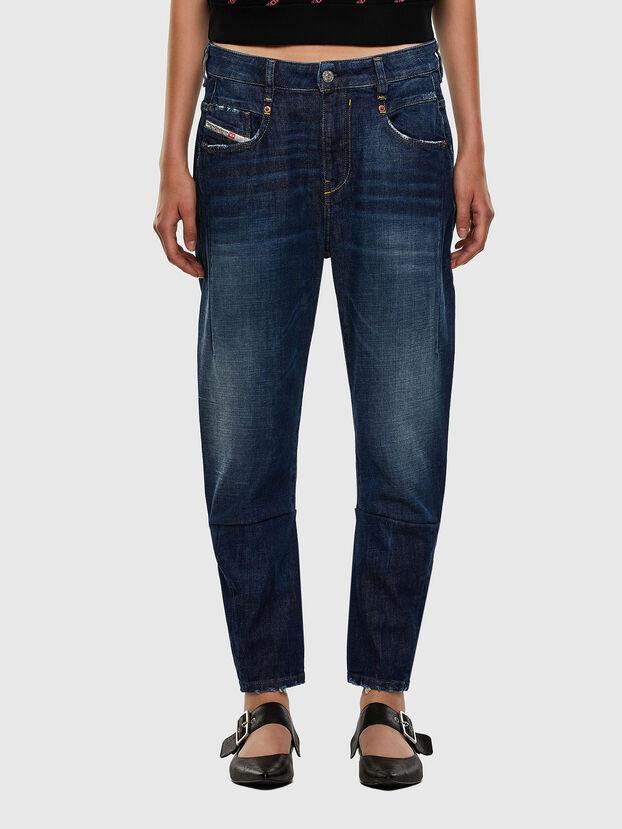Fayza 0F9ET, Dunkelblau - Jeans