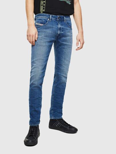 Diesel - Thommer 0097X, Mittelblau - Jeans - Image 1