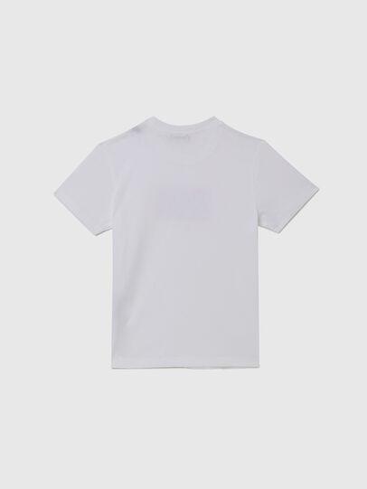 Diesel - TJUSTX62, Weiß - T-Shirts und Tops - Image 2