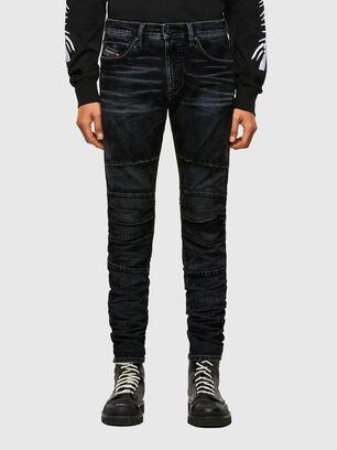 D-Strukt JoggJeans® 069TG, Nero/Grigio scuro - Jeans