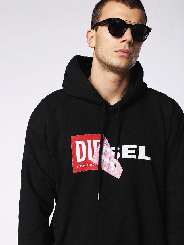 Diesel - DL0251, Brillantschwarz - Sonnenbrille - Image 5