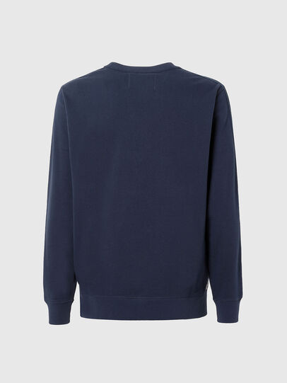 Diesel - UMLT-WILLY, Blau - Sweatshirts - Image 2