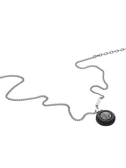 Diesel - NECKLACE DX1022, Silber - Halsketten - Image 2