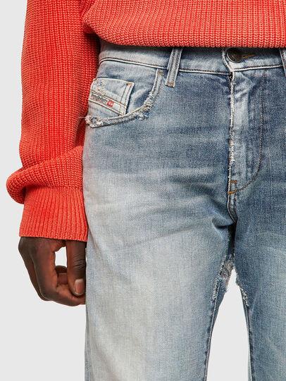 Diesel - D-Strukt 09A04, Bleu Clair - Jeans - Image 4