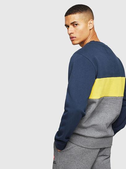 Diesel - UMLT-WILLY, Blau/Grau - Sweatshirts - Image 2