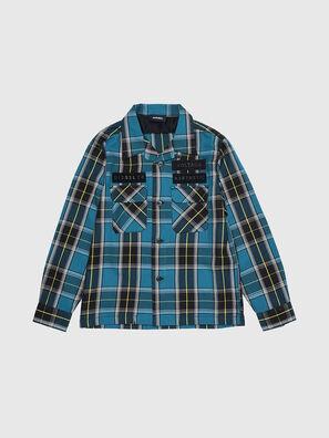 CTAKESHI, Blau/Schwarz - Hemden