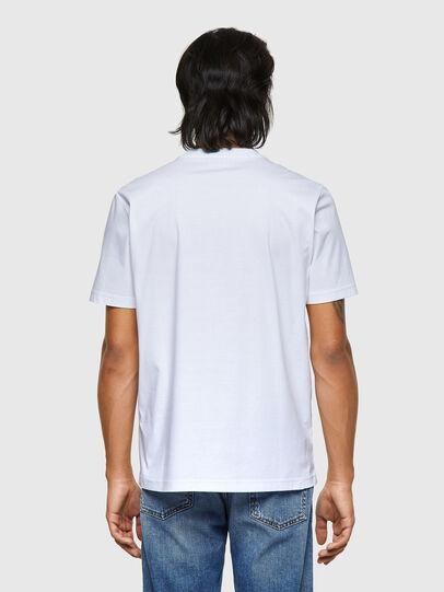 Diesel - T-JUST-ROMOHI, Blanc - T-Shirts - Image 2