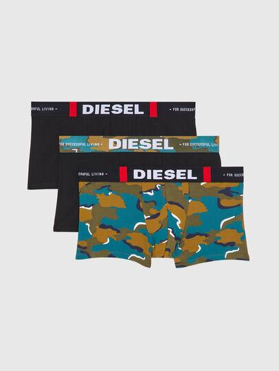 Diesel - UMBX-DAMIENTHREEPACK, Schwarz/Grün - Boxershorts - Image 1