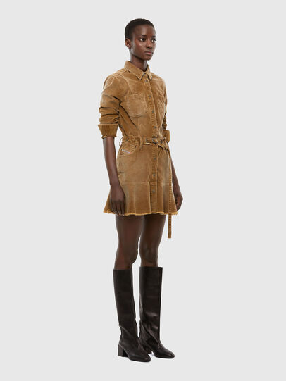 Diesel - D-SHAY-A, Marron Clair - Robes - Image 6