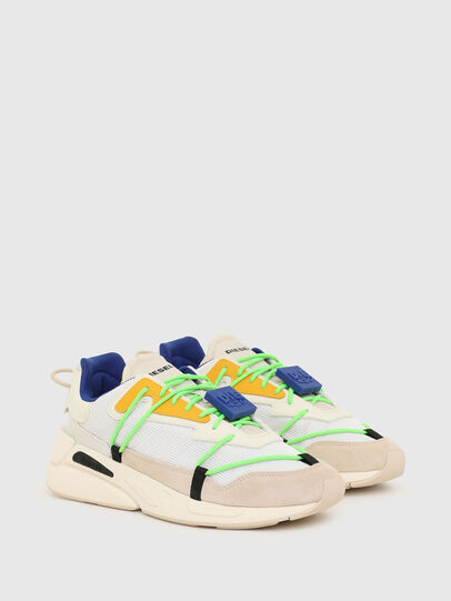Diesel - S-SERENDIPITY LACE, Bianco/Rosa - Sneakers - Image 2