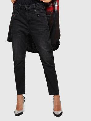 Fayza 069BG, Schwarz/Dunkelgrau - Jeans