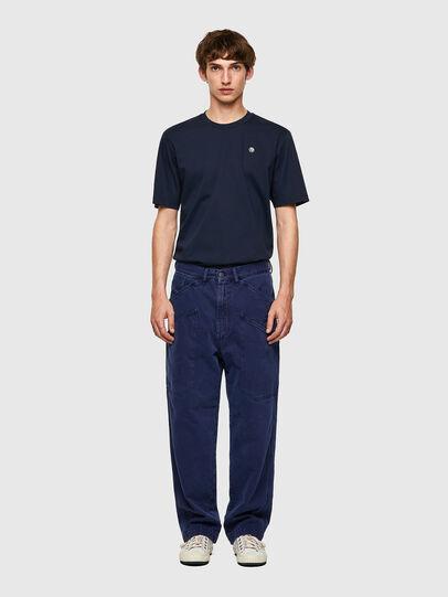 Diesel - D-Franky 0EEAX, Bleu moyen - Jeans - Image 6