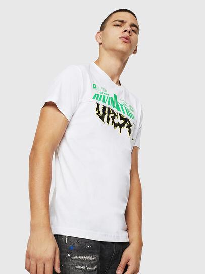 Diesel - T-DIEGO-B12, Weiß - T-Shirts - Image 1