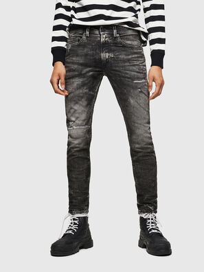Thommer JoggJeans 0890B, Schwarz/Dunkelgrau - Jeans