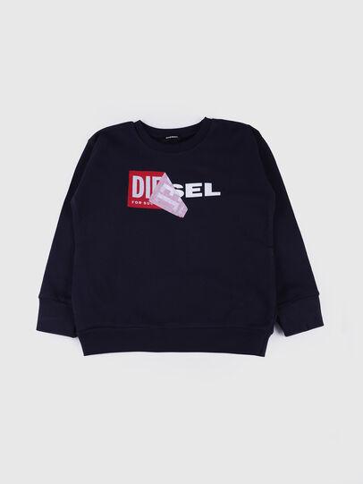 Diesel - SALLY OVER, Marineblau - Sweatshirts - Image 1