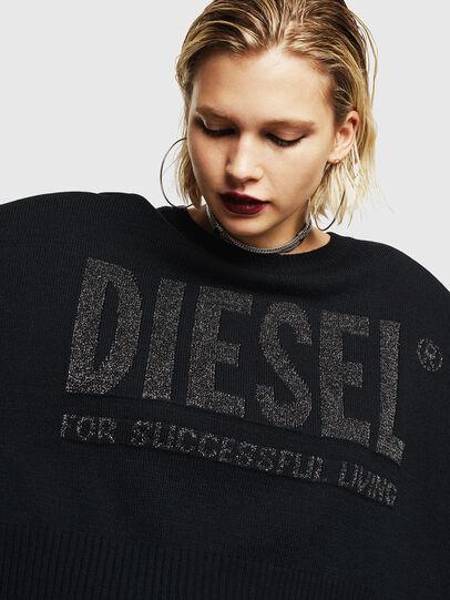 Diesel - M-LUREXY, Schwarz - Strickwaren - Image 3