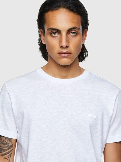 Diesel - T-RONNIE, Bianco - T-Shirts - Image 3