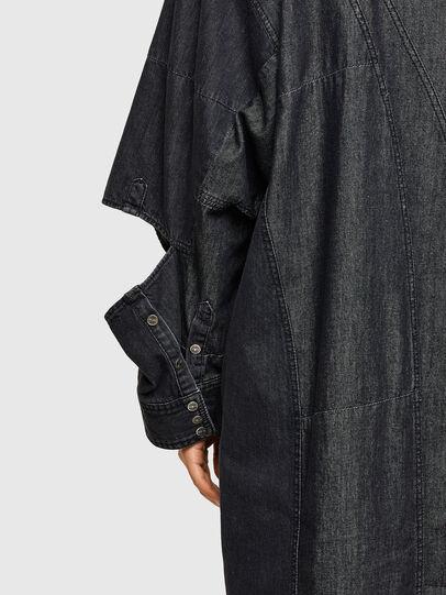 Diesel - DE-BLANCLE, Noir - Robes - Image 4