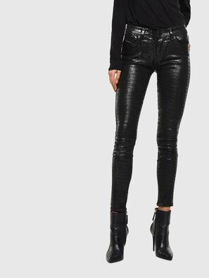 Slandy 0094S, Schwarz/Dunkelgrau - Jeans