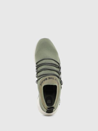 Diesel - S-KB SLG, Olivgrün - Sneakers - Image 5