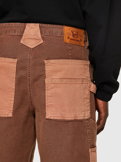 Diesel - D-CHAD-SP-NE, Light Brown - Shorts - Image 5