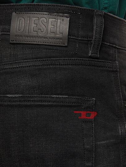Diesel - D-Strukt 0098B, Schwarz/Dunkelgrau - Jeans - Image 4