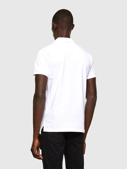 Diesel - T-RANDY-NEW-A2, Blanc - Polos - Image 3