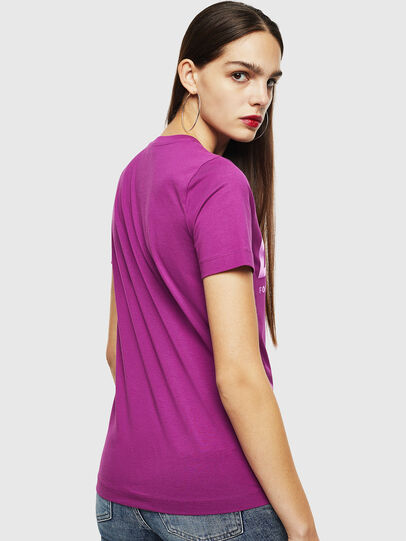 Diesel - T-SILY-WX, Violett - T-Shirts - Image 2