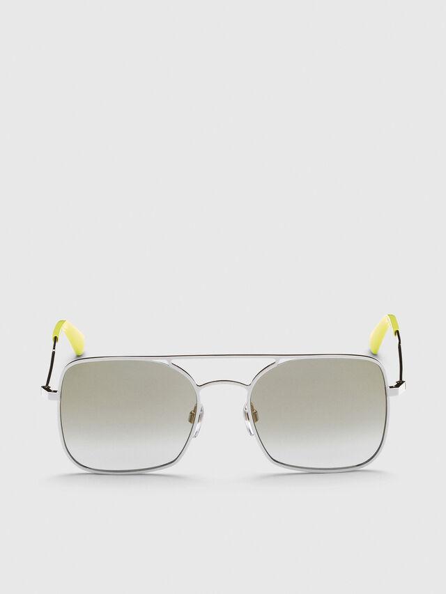 Diesel - DL0302, Silber - Sonnenbrille - Image 1