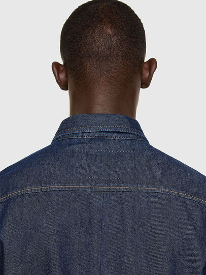 Diesel - D-RAPP, Bleu Foncé - Chemises en Denim - Image 4