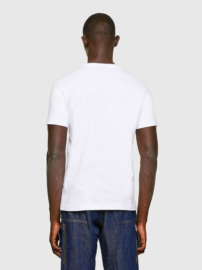Diesel - T-DIEGOS-K11, Blanc - T-Shirts - Image 2