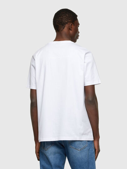 Diesel - T-JUST-A34, Bianco - T-Shirts - Image 2