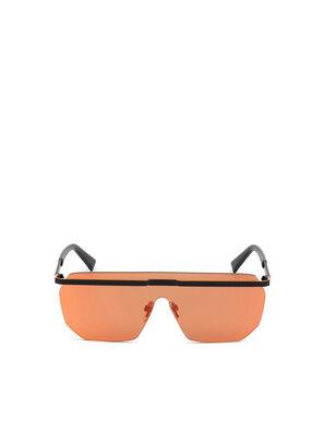 DL0259, Orange/Schwarz - Sonnenbrille