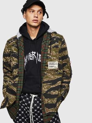 S-KUTUZOV, Armeegrün - Hemden