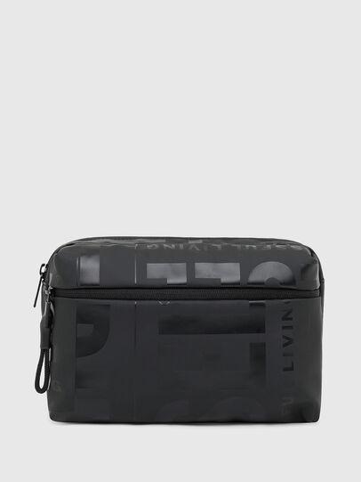 Diesel - X-BOLD BELTBAG, Noir - Sacs ceinture - Image 1