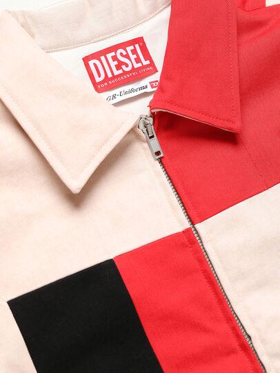Diesel - GR02-J303-P, Weiß - Denim jacken - Image 3