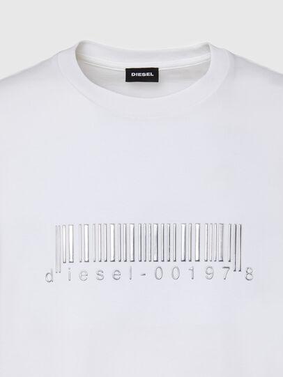 Diesel - T-JUST-SLITS-X85, Weiß - T-Shirts - Image 3
