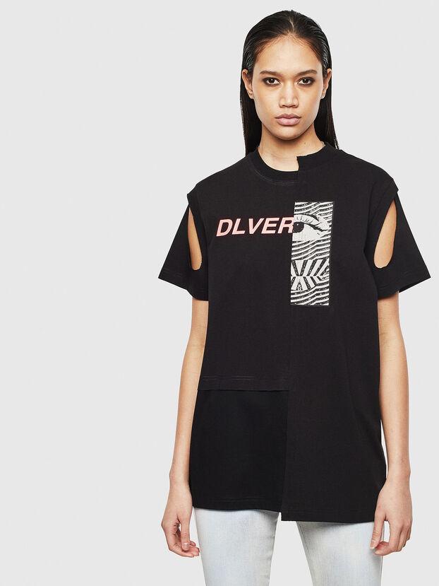T-GOMEZ, Schwarz - T-Shirts