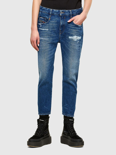 Diesel - Fayza 0079R, Mittelblau - Jeans - Image 1