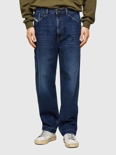 Diesel - D-Franky 009NE, Blu Scuro - Jeans - Image 1