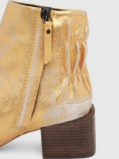 Diesel - JAYNET MAB, Gold - Ankle Boots - Image 6