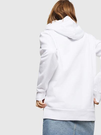 Diesel - F-GIR-HOOD-DIVISION-, Weiß - Sweatshirts - Image 2