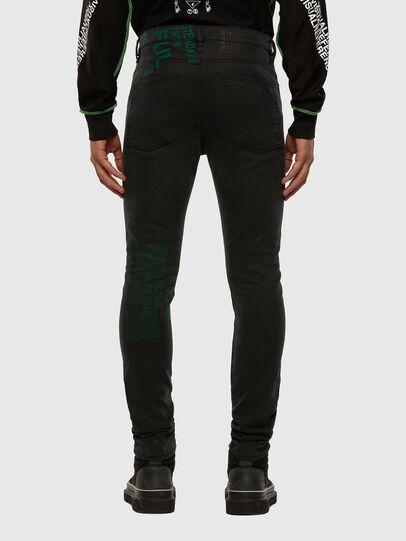 Diesel - D-REEFT JoggJeans® 009HD, Schwarz/Dunkelgrau - Jeans - Image 2