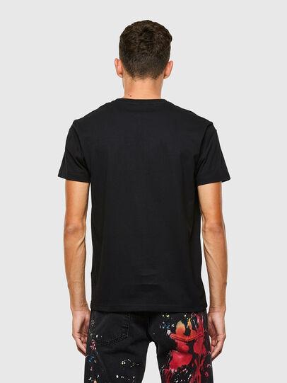 Diesel - T-DORYMO-A1, Nero - T-Shirts - Image 2