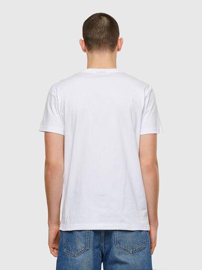 Diesel - T-DIEGOS-E32, Bianco - T-Shirts - Image 2